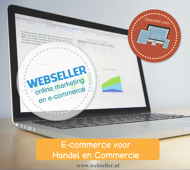 Webseller E commerce voor handel en commercie logistiek